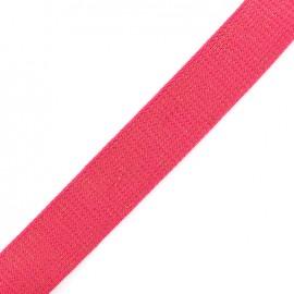 Lurex strap copper - magenta x 1m