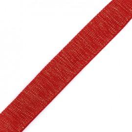 Lurex strap golden - bloody mary x 1m