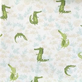 Cotton fabric Daily Like - Crocodile x 10cm