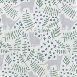 Tissu coton Daily Like - Cat's garden x 10cm