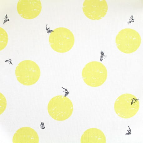 Tissu coton Daily Like - Moonlit x 10cm