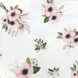 Tissu coton Daily Like - Bashful x 10cm