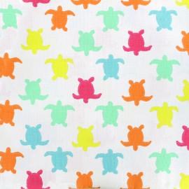 Tissu coton cretonne Hermann - multicolore x 10cm