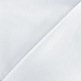 Elastic plain jeans fabric - brume x 10cm