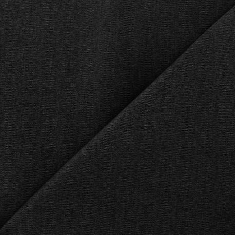 Tissu Jeans élasthanne uni - noir