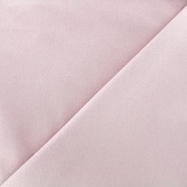 Elastic plain jeans fabric - light pink x 10cm