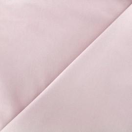 Elastic plain jeans fabric - light pink x 10cm