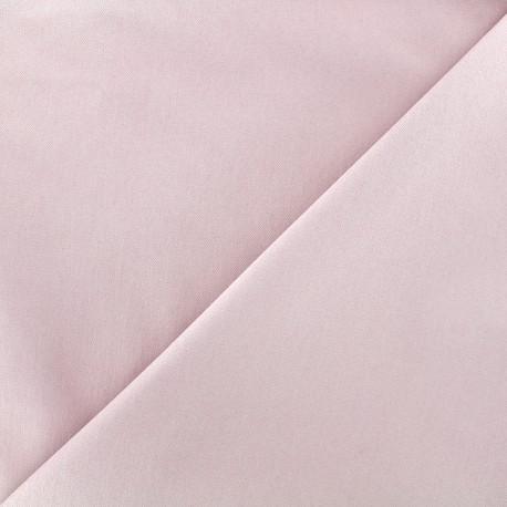 Tissu Jeans élasthanne uni - rose clair x 10cm