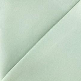 Tissu Jeans élasthanne uni - vert clair x 10cm