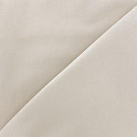 ♥ Coupon 80 cm X 140 cm ♥ Tissu Jeans élasthanne uni - gris argile
