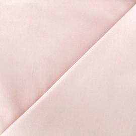Elastic plain jeans fabric - light peach x 10cm