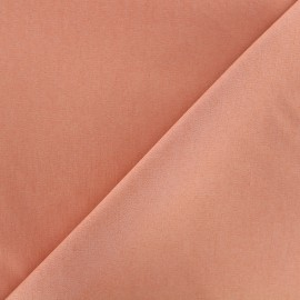 Elastic plain jeans fabric - pink tea x 10cm