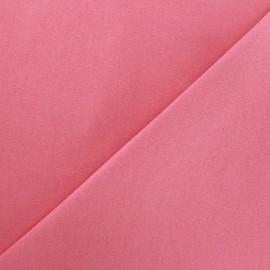Tissu Jeans élasthanne uni - rose vif x 10cm