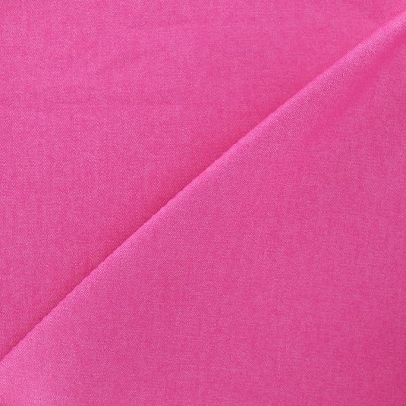 Tissu Jeans élasthanne uni - fuchsia x 10cm