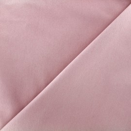 ♥ Coupon 30 cm X 140 cm ♥  Elastic plain jeans fabric - old pink