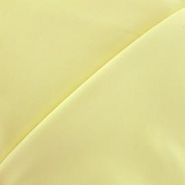 ♥ Coupon 10 cm X 140 cm ♥  Elastic plain jeans fabric - light yellow