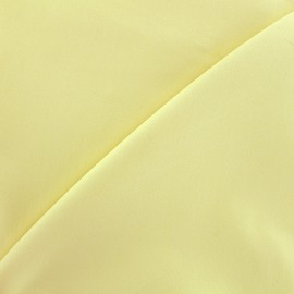 Elastic plain jeans fabric - light yellow x 10cm