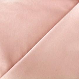 Elastic plain jeans fabric - nude x 10cm
