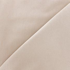 Tissu Jeans élasthanne uni - beige clair x 10cm