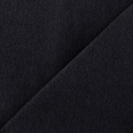 Tissu Jeans élasthanne uni - marine x 10cm