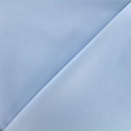 Elastic plain jeans fabric - bleuet x 10cm