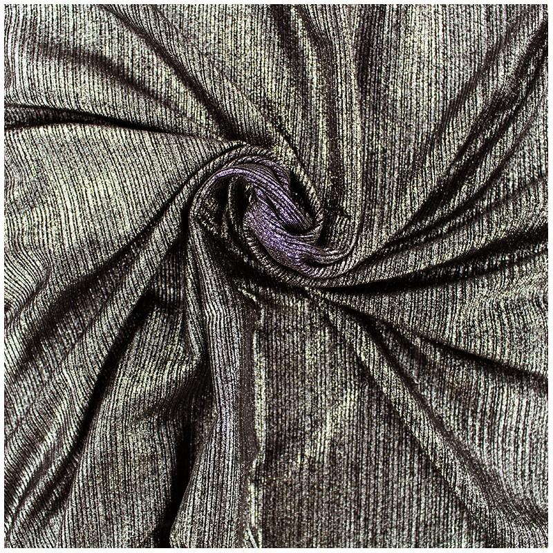 tissu polyester lycra pliss m tallis dor x 10cm ma. Black Bedroom Furniture Sets. Home Design Ideas