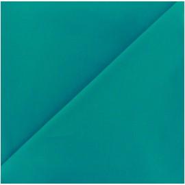 Tissu Popeline bleu persan x10cm