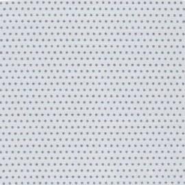 Tissu coton Froufrou Pois scintillant - argent/gris x 10cm