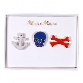 Meri Meri lapel pin - Pirate