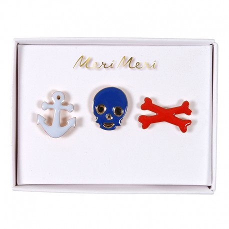 Meri Meri lapel pin - Pirate