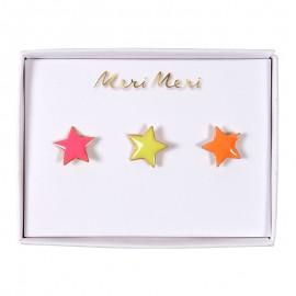 Meri Meri lapel pin - Stars