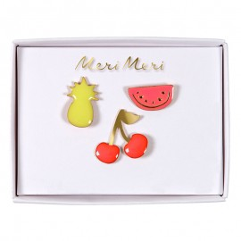 Meri Meri lapel pin - Fruit