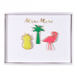 Meri Meri lapel pin - Tropical