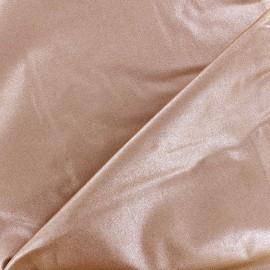 Tissu coton Froufrou scintillant - cuivre x 10cm