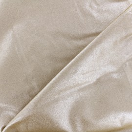 Tissu coton Froufrou scintillant - doré x 10cm