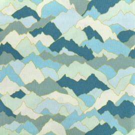 Dashwood cotton fabric Paper Altitude - Moutain x 10cm