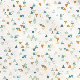 Tissu coton Dashwood Altitude - Triangles x 10cm
