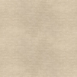 Tissu double gaze de coton Chambray Dobby - linen x 10cm