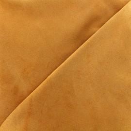 Tissu Suédine Volige - terracotta x 10cm