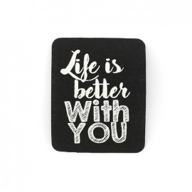Thermocollant Yolo - Life is better with you
