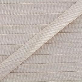 Ruban chambray Guinguette - beige