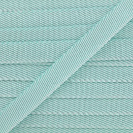 Guinguette chambray ribbon - sky blue