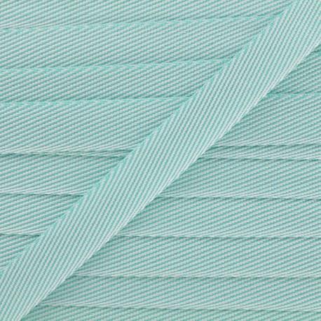 Ruban chambray Guinguette - bleu ciel