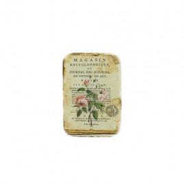 Empiècement à coudre L'herbier des roses - magasin encyclopédique