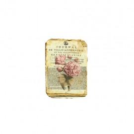 Empiècement à thermocoller L'herbier des roses - journal