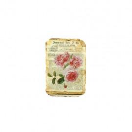 Empiècement à coudre L'herbier des roses - journal des arts