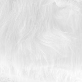 Fourrure Himalaya - blanc x 10cm