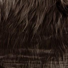 Fourrure Himalaya - marron x 10cm