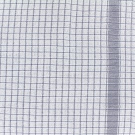 Gaufrex cloth fabric - grey x 82cm