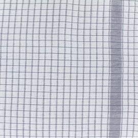 Gaufrex cloth fabric - grey x 10cm